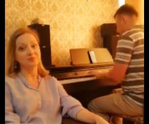 Михаил Бесперстов  и Ольга Пустынникова